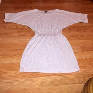 Express cropped sleeve sweater dress size s/p